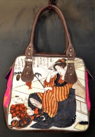 Dl351 retro jap bag