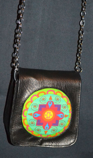 DL367 small leather bag