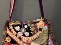 victorian collage shoulder bag