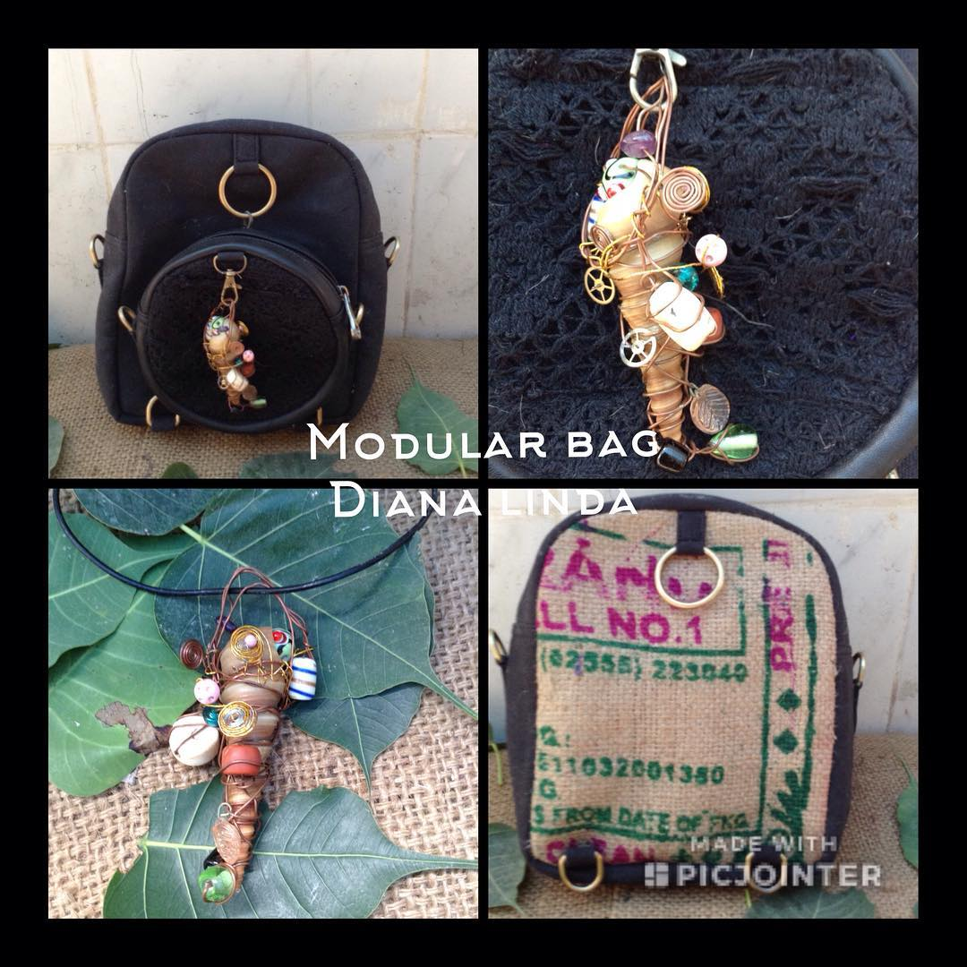 DL19-20 UPCYCLING JUTE MODULAR BAG