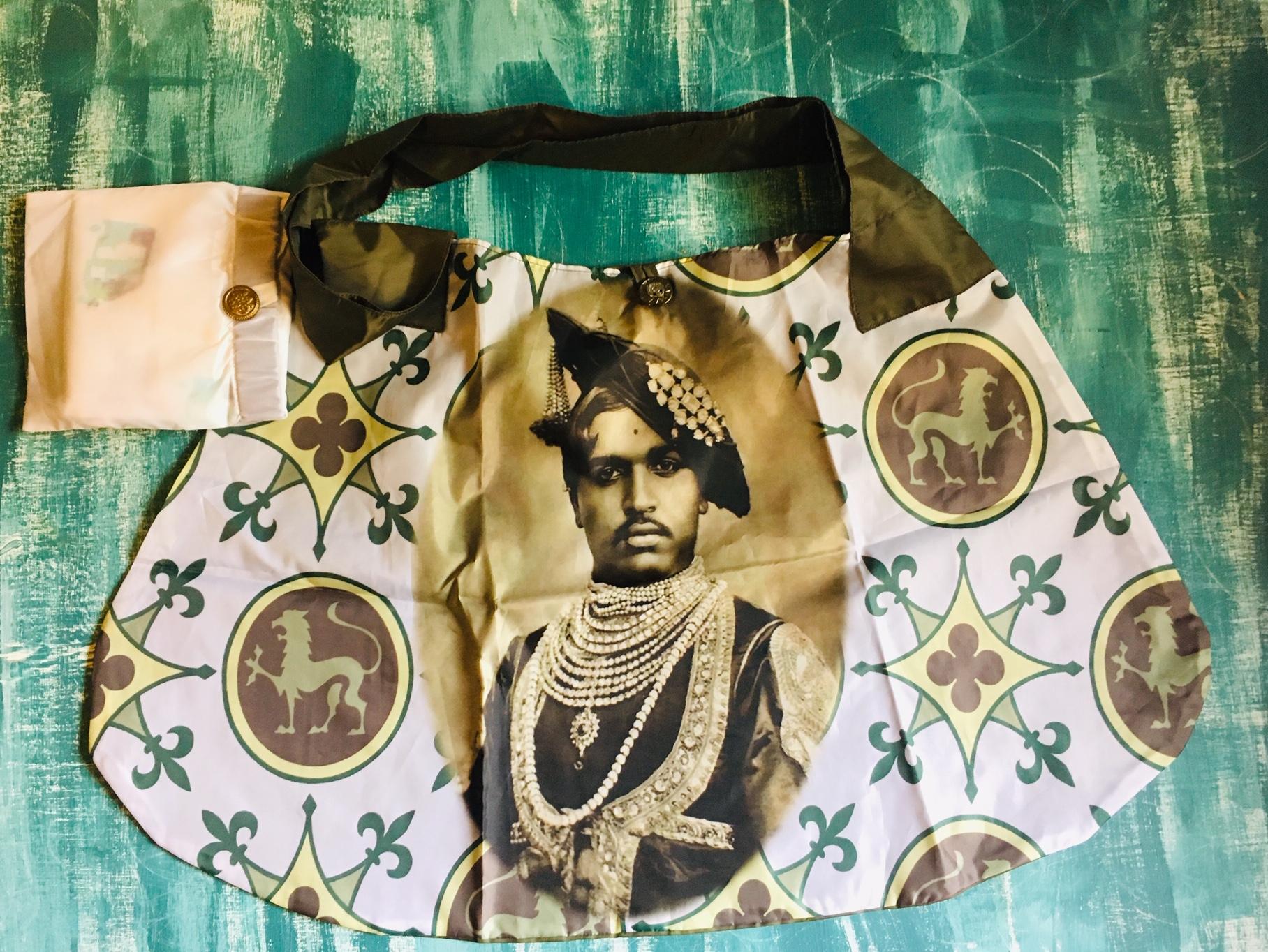 DL19-54 foldable shop bag maharadja