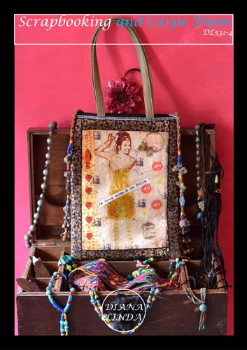 DL531 4 multi zip bag je vous aime