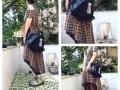 assymetrical shirt dress