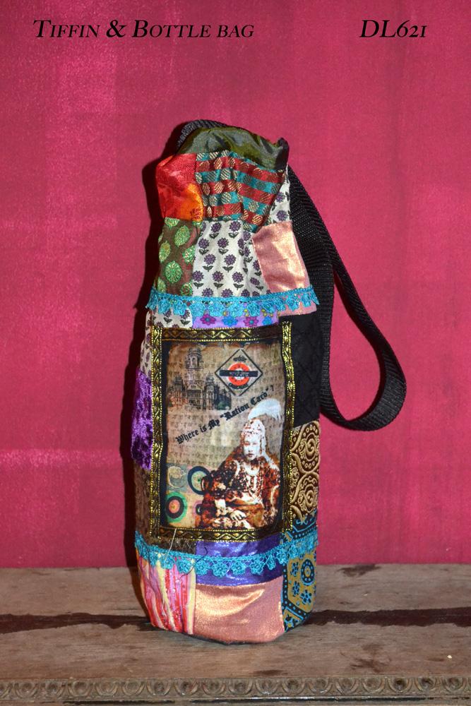 DL621 2 tiffin and bottle bag