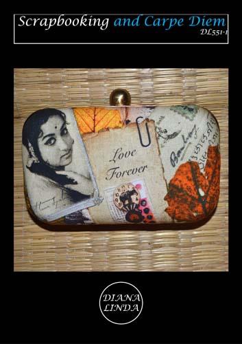 DL 551 1 box clutch frame love forever
