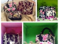 DL19-43 VELVET EMBROIDERY SMALL NIGHT PURSE