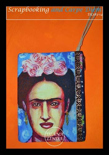 DL583 14 medium pouch fabric