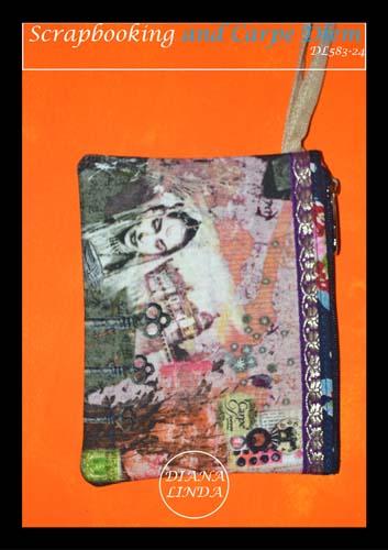 DL583 24 medium pouch fabric