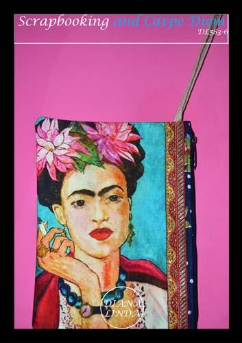 DL583 6 medium fabric pouch