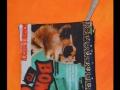 DL583 13 medium pouch fabric