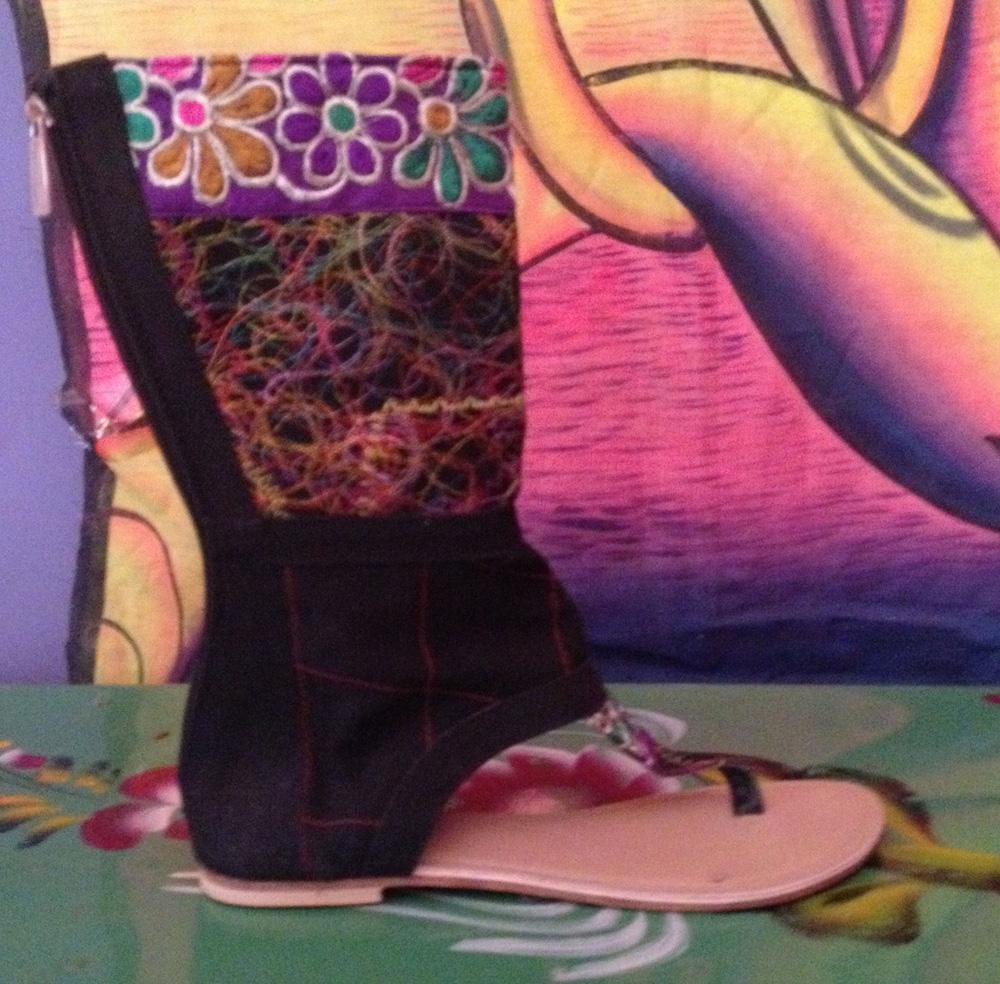 shoes medium wt zip