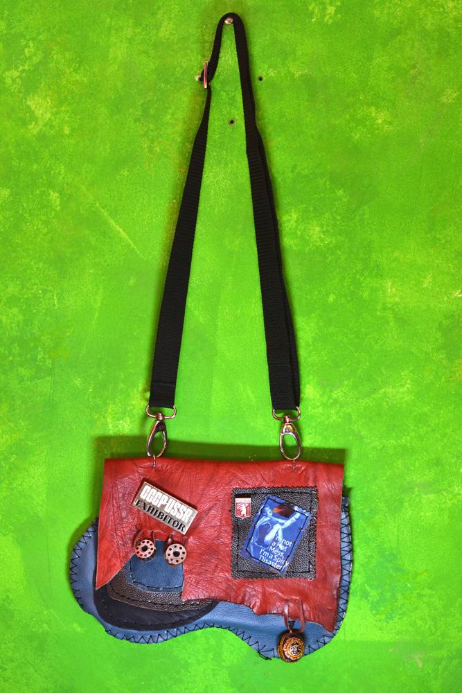 DL 650 handmade leather