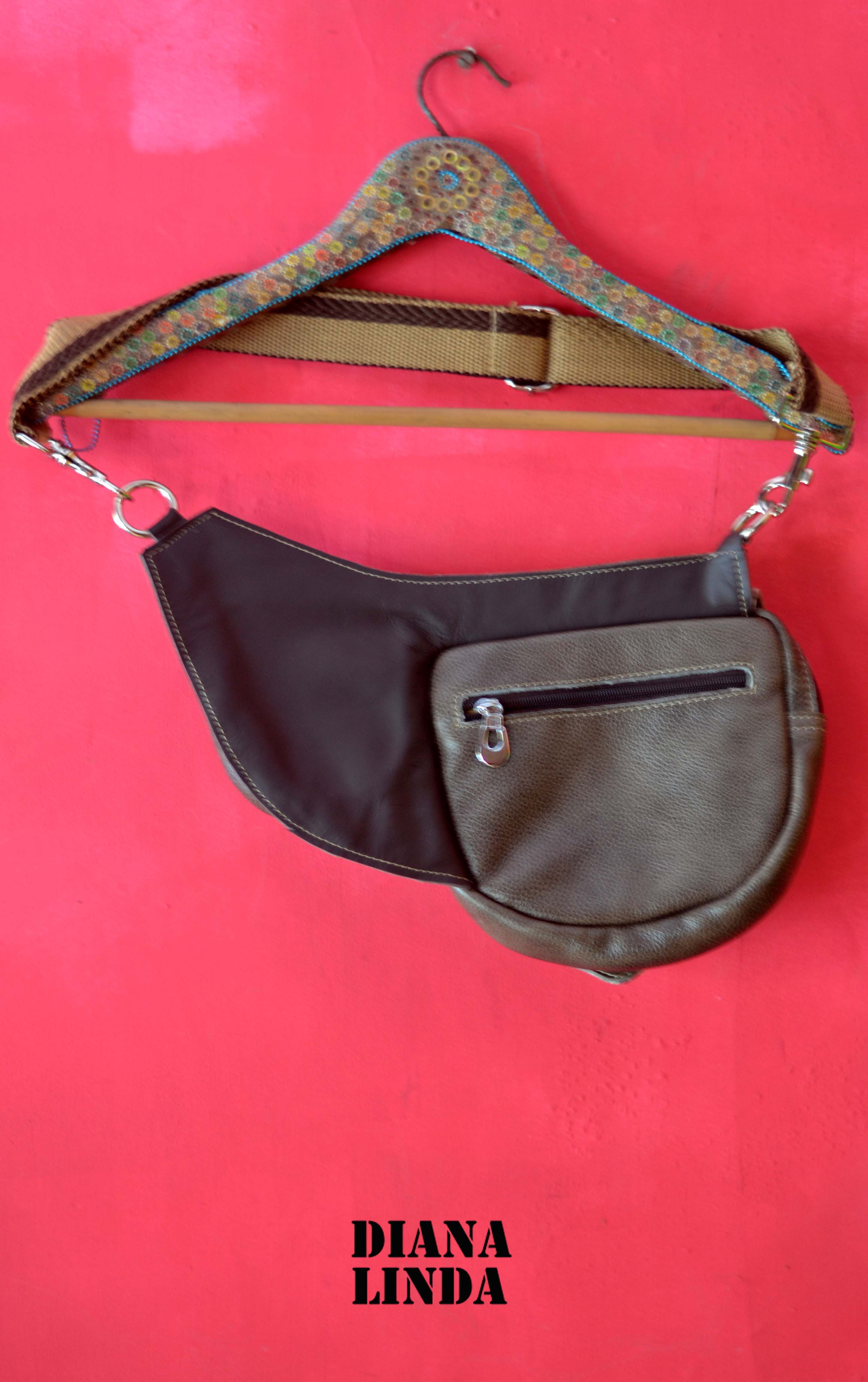 DL 732 HEREMES LEATHER BELT BAG