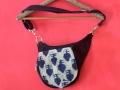DL 733 ARTEMIS BLUE DENIM BELT BAG